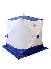 Палатка для зимней рыбалки PF-TW-10 Куб Следопыт 1,5х1,5 OXFORD 210D PU 1000, фото 2