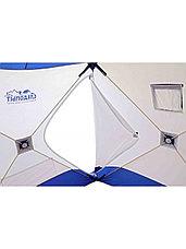 Палатка для зимней рыбалки PF-TW-10 Куб Следопыт 1,5х1,5 OXFORD 210D PU 1000, фото 3