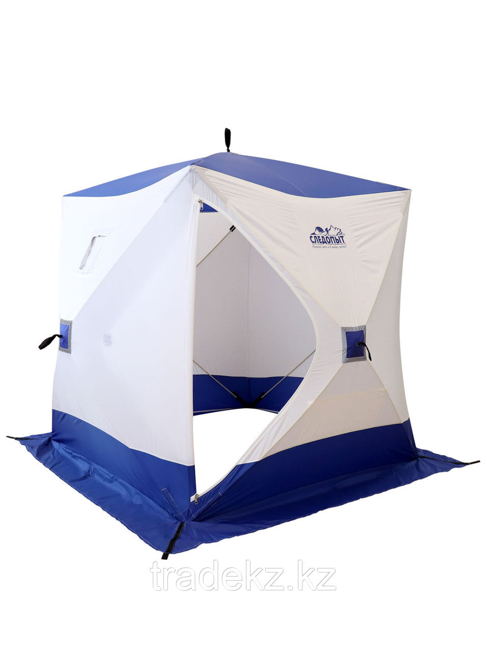 Палатка для зимней рыбалки PF-TW-03 Куб Следопыт 1,5х1,5 OXFORD 240D PU 1000