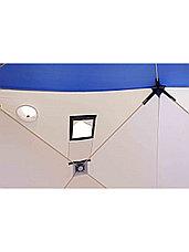 Палатка для зимней рыбалки PF-TW-03 Куб Следопыт 1,5х1,5 OXFORD 240D PU 1000, фото 3