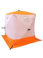 Палатка для зимней рыбалки PF-TW-11 Куб Следопыт 1,8х1,8 OXFORD 210D PU 1000, фото 3