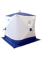 Палатка для зимней рыбалки PF-TW-12 Куб Следопыт 1,8х1,8 OXFORD 210D PU 1000, фото 2