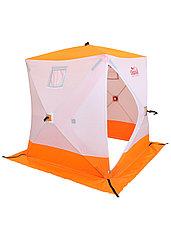 Палатка для зимней рыбалки PF-TW-02 Куб Следопыт 1,8х1,8 OXFORD 240D PU 1000, фото 3