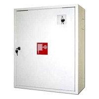 Шкаф пожарный ШПК-01 /без стекла/ 540*650*230/ Красный, белый, в Караганде