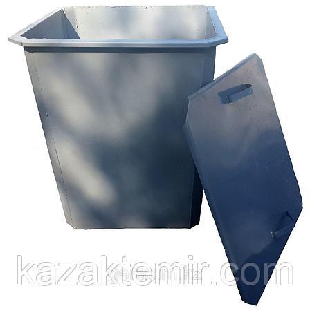 Мусорный бак,контейнер с крышкой, фото 2