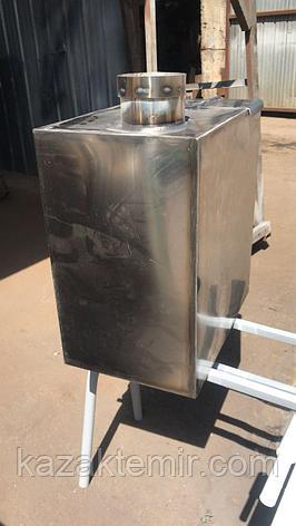 """Банная печь """"Квадратная малая"""" с нержавеющим баком, фото 2"""
