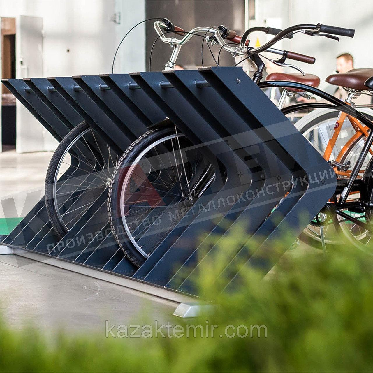 Велопарковка на 7 мест - фото 3