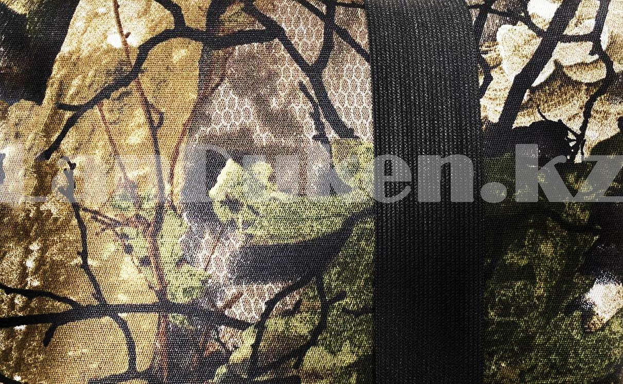 Каремат туристический складной в двухсторонней расцветке на резинках 80*200 см - фото 10
