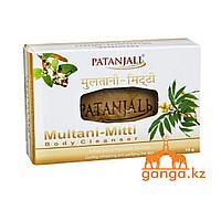 Мыло с Жёлтой глиной ( Multani-Mitti Soap PATANJALI), 75 гр