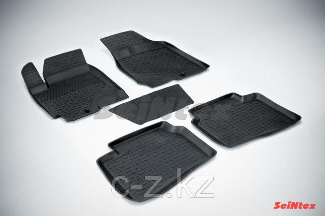 Резиновые коврики с высоким бортом для KIA Cerato 2009-2013, фото 2