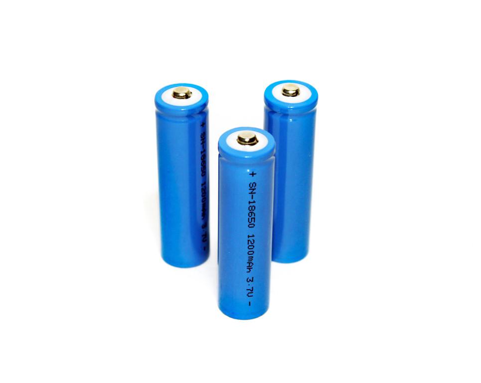 Аккумуляторная батарея 18650, 1200-3600 мач