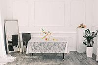 Клеенка столовая ПВХ на тканевой основе с печатным рисунком, рисунок 43 Яблоки, колорит 2
