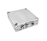 Набор для игры в покер в алюминиевом кейсе 100 фишек, две колоды карт Darshan