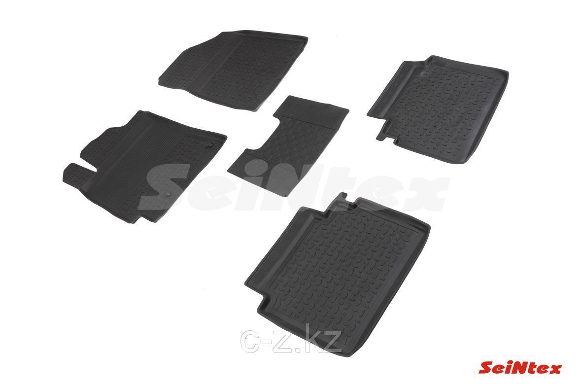 Резиновые коврики с высоким бортом для KIA Cerato IV 2018-н.в.