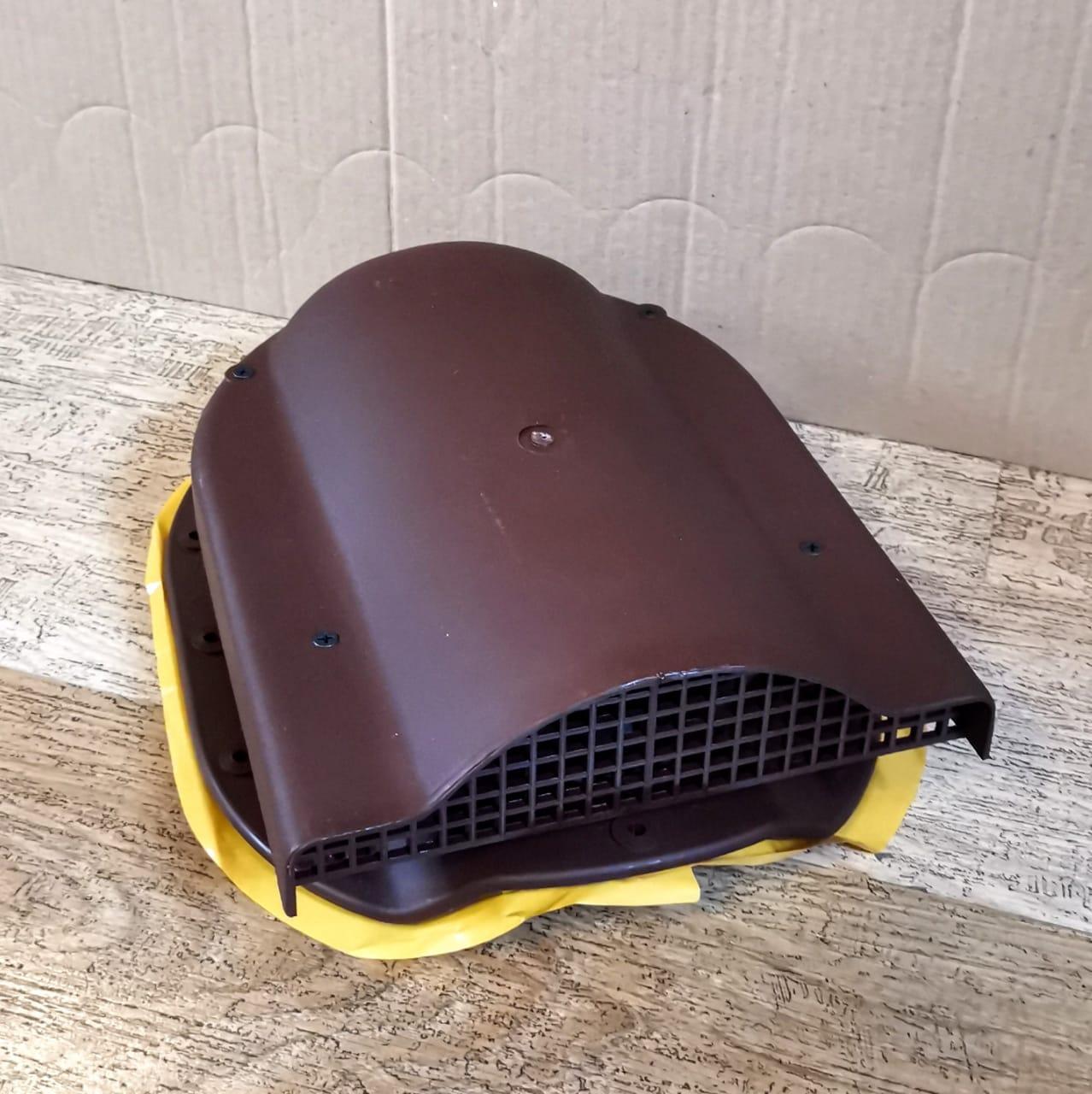 Вентиль Аэратор для металлочерепицы Adamante WPBN 150 Коричневый