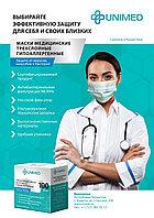 Трехслойная медицинская маска