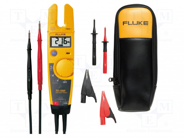 T5-1000 KIT, T5-1000 ELECTRICAL TESTER WITH T5-ACC KIT