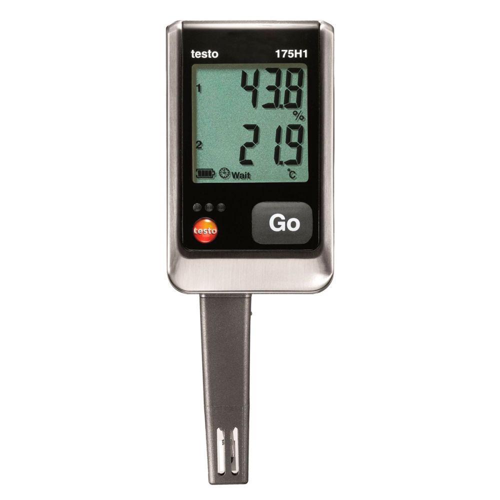 Testo 175 H1 2х-канальный логгер данных температуры и влажности с интегрированым внешним зондом влажности
