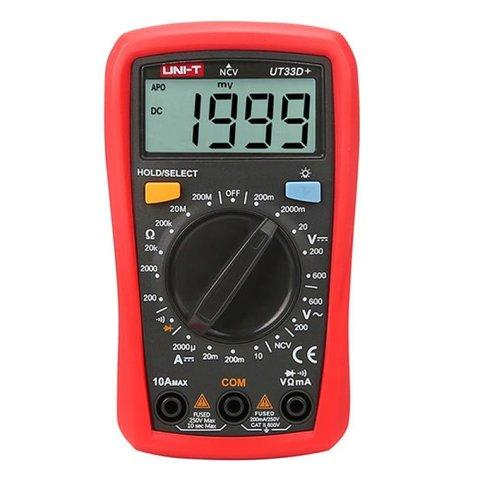 UNI-T UT33D+, Мультиметр цифровой