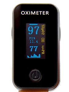 Пальцевой пульсометр, оксиметр OLED