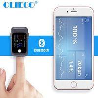 Пальцевой пульсометр, оксиметр OLIECO Bluetooth BM1000C