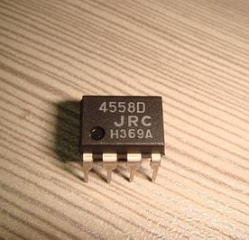 Микросхема 4558D JRC 0058T