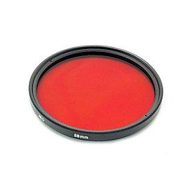 Светофильтр красный 52 mm