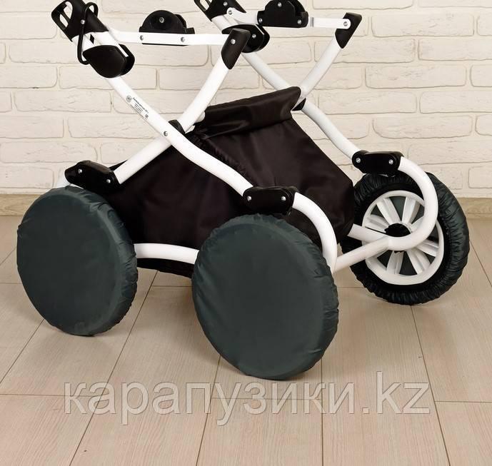 Чехлы на колеса детской коляски диаметр 32 см