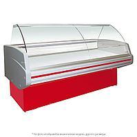 Витрина холодильная Golfstream Двина 120 ВСН, красная