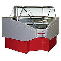Витрина холодильная Golfstream Двина УВ 90 ВС, красная