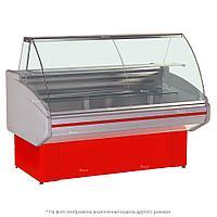 Витрина холодильная Golfstream Двина 120 ВС, красная