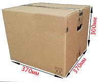 Средняя Б/У коробка 370х370х300