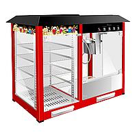 Аппарат для попкорна Airhot POP-6W с витриной