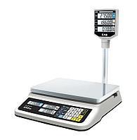 Торговые весы CAS PR-30P LCD, II USB