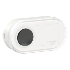 Кнопка звонковая открытой установки белый /BLNKA000011/