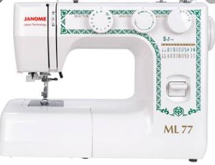 Швейная машина Janome ML 77 белый