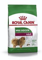 Royal Canin Mini Indoor сухой корм для собак мелких пород живущих в помещениях