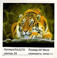 """Картина по номерам """" Тигр """" 50 х 40 см"""