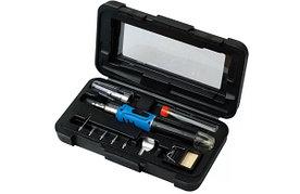GS-200K Pro'sKit Газовый паяльник с набором насадок в футляре