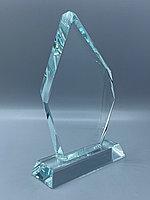 """Награда стеклянная """"айсберг малый"""", размер - 170*100*18мм"""