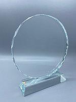 "Награда из стекла ""подсолнух средний"" (115*115*15мм), фото 1"