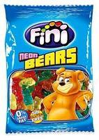 Неоновые медвежата FINI 100 гр. (Neon Bears) Мармелад