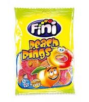 Персиковые колечки FINI 100 гр. (Peach Rings) Мармелад