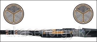 Соединительные муфты GUSJ-12 для 3-жильных кабелей с бумажной изоляцией в общей оболочке на напряжение 6 и 10
