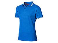 """Рубашка поло """"Deuce"""" мужская, небесно-голубой XL, 3310442XL"""