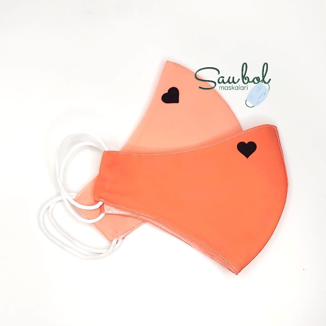 Многоразовые двухслойные защитные  маски на заказ с логотипом/ принтом