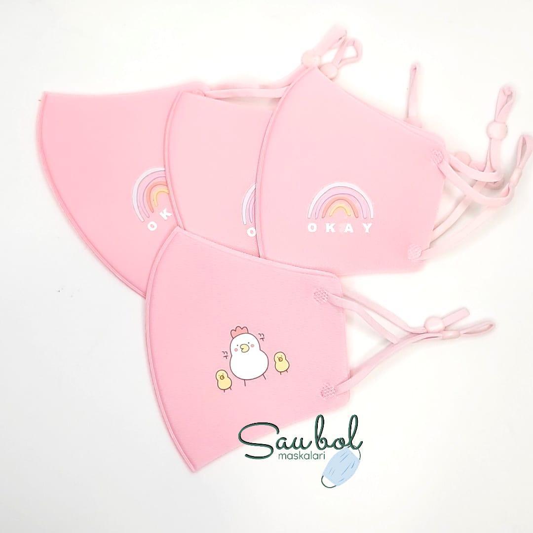 Многоразовые защитные  маски для детей