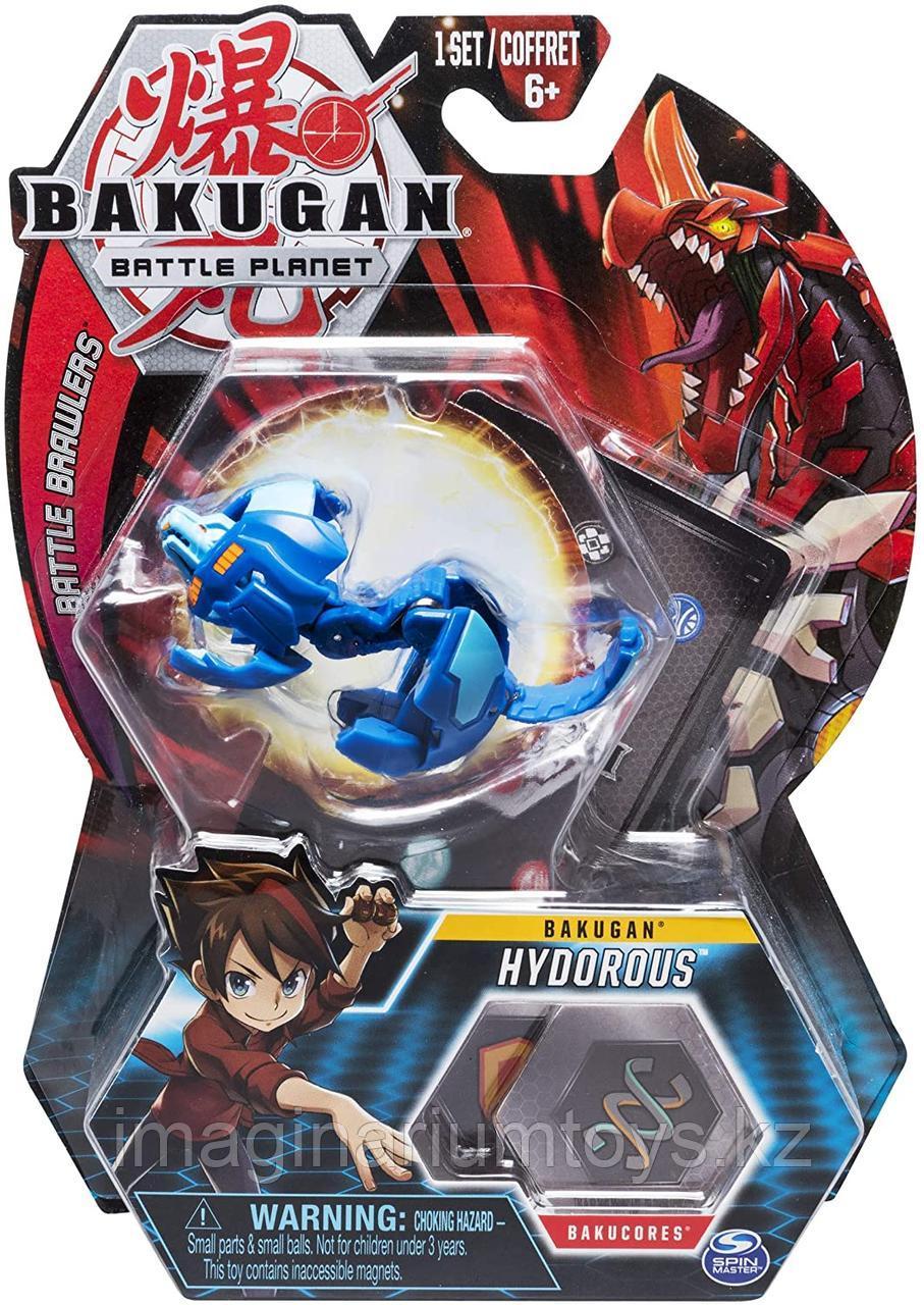 Игрушка-трансформер Бакуган Голубой лев Bakugan Lion Blue