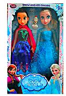 Куклы «Холодное сердце» Frozen Эльза и Анна и олаф