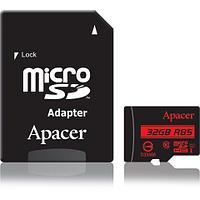 Карта памяти Apacer AP32GMCSH10U5-R 32GB + адаптер